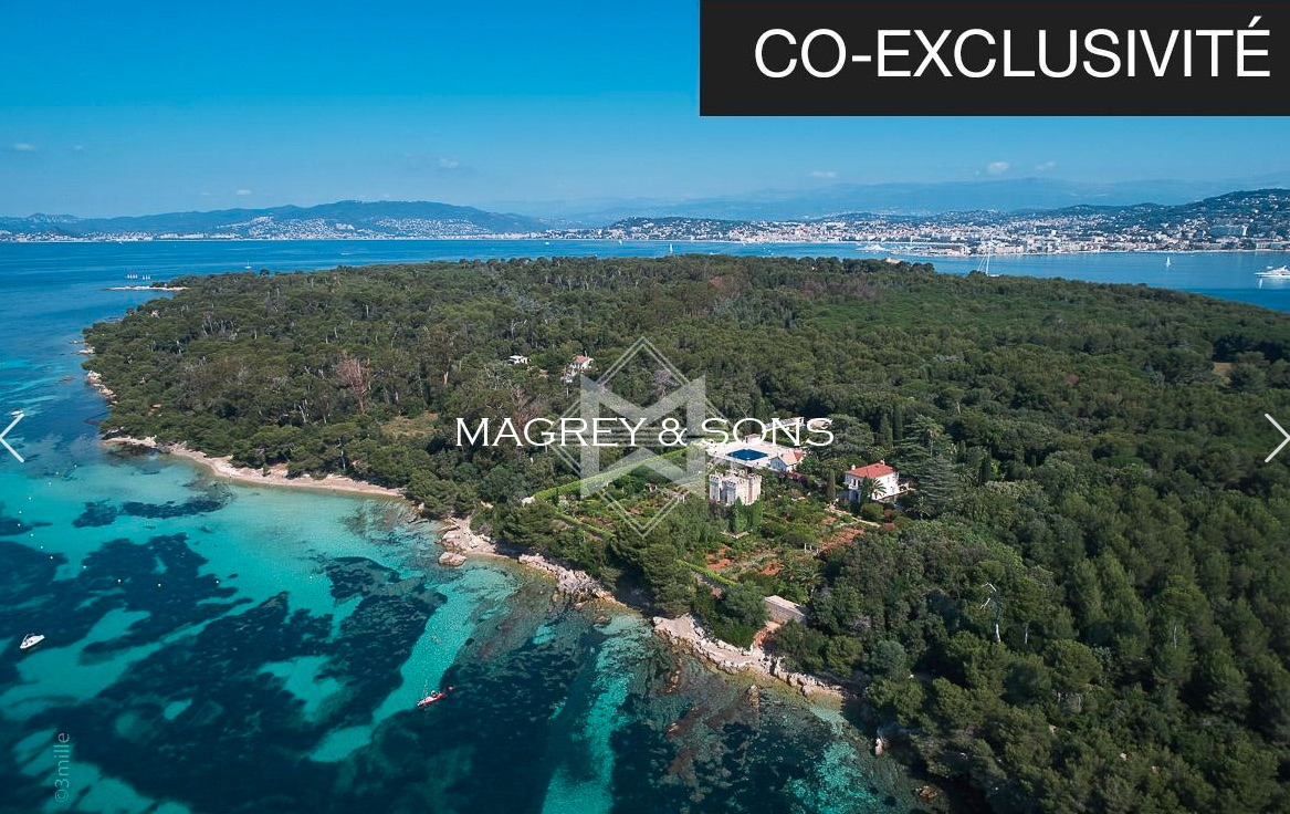 Grand Jardin - Unique waterfront property in Lerins Island, Cannes